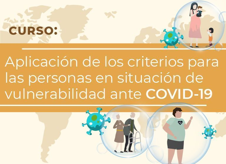Nuevo curso CLIMSS: Aplicación de los criterios para las personas en situación de vulnerabilidad ante el COVID-19