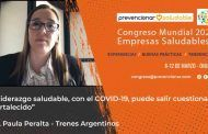 Congreso Mundial Empresa Saludable – Entrevista a la Dra. Paula Daniela Peralta