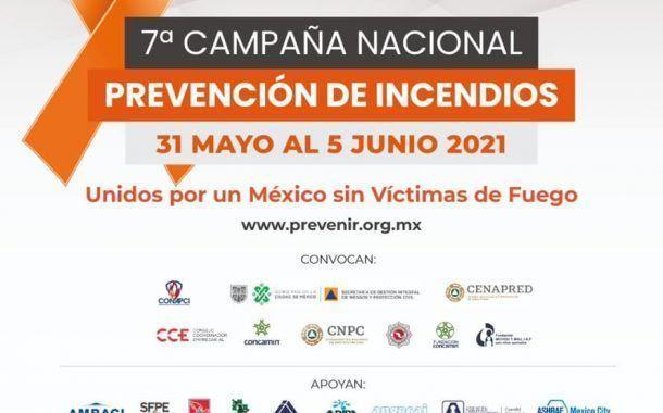 Súmate a la Campaña Nacional de Prevención de incendios 2021