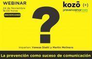 La prevención como suceso de comunicación #webinar