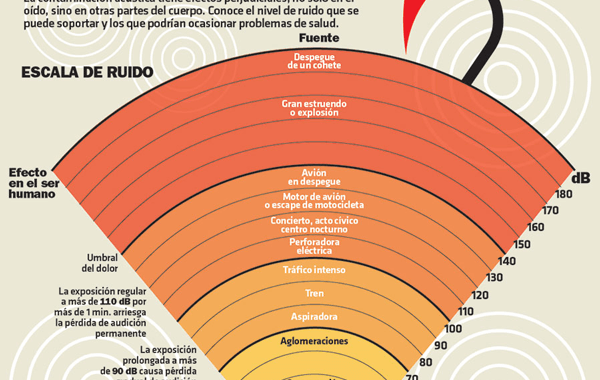 Infografía: El Peligro del Ruido