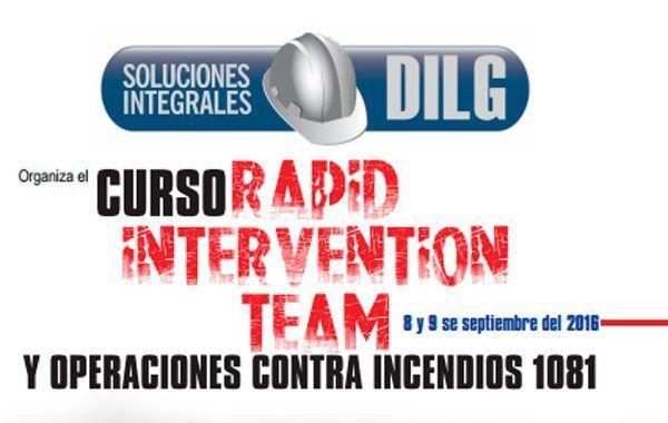 Curso: Rapid Intervention Team y Operaciones contra Incendios