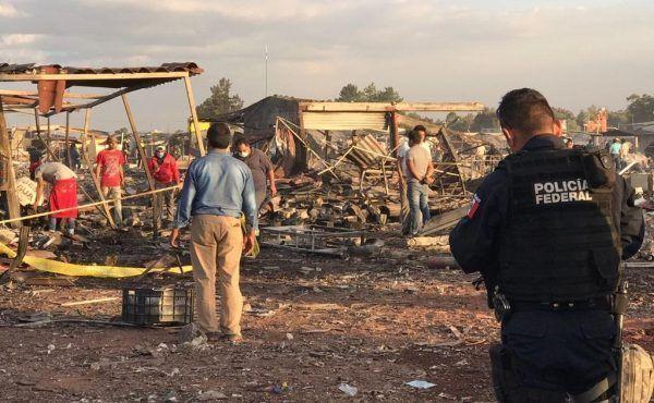 Explosión en Tultepec, Estado de México cobra hasta el momento 32 vidas