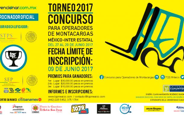 ¿Ya te inscribiste al Torneo 2017 Concurso Inter Estatal para operadores de montacargas?