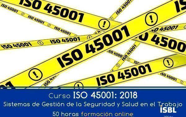¿Ya conoces los cursos de ISBL sobre la norma ISO 45001? ¡Inscríbete!