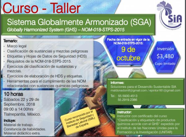 Curso-taller sobre SGA