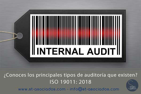 ISO 19011: 2018 ¿Conoces los principales tipos de auditoría que existen?