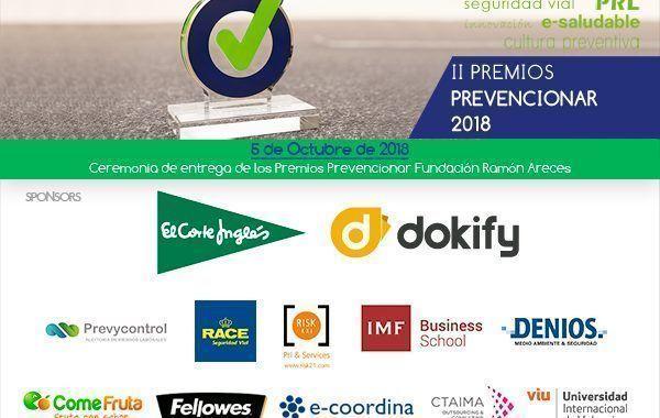 400 invitados asistirán a la gala de entrega de los Premios Prevencionar ¡Aforo Completo!