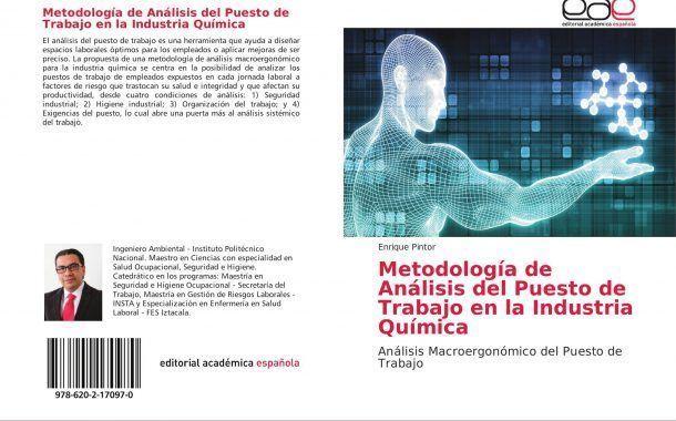 Publican nuevo libro sobre el análisis de puestos en la industria química