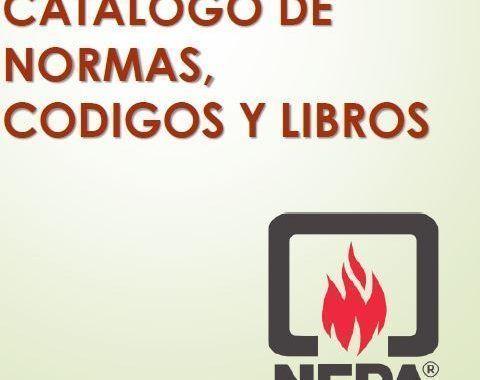 ¡Conoce el Catálogo de normas y códigos de la NFPA!
