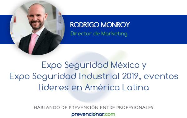 Expo Seguridad México y Expo Seguridad Industrial 2019, eventos líderes en América Latina