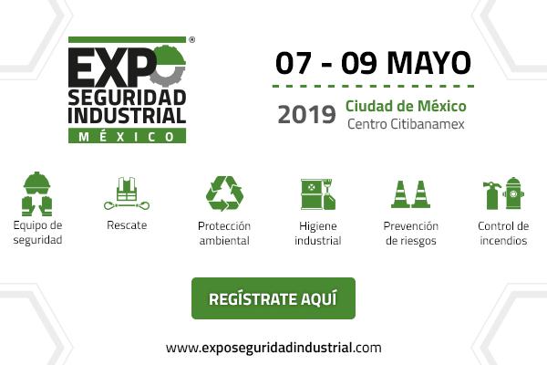 Último día para inscribirte sin costo a la Expo Seguridad Industrial 2019