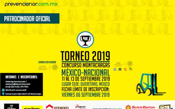 Ya puedes inscribirte al Concurso para Operadores de Montacargas 2019