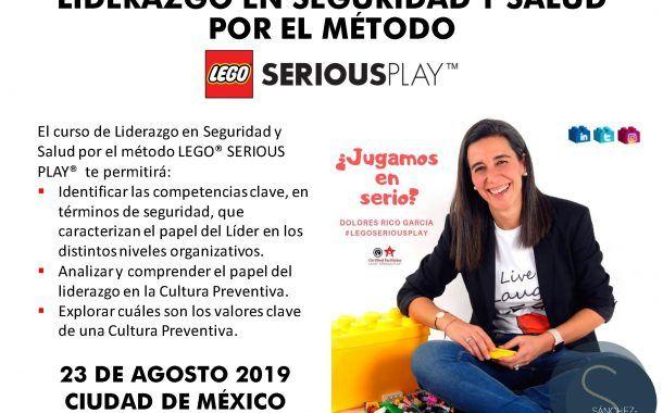 Últimas plazas para el curso sobre Liderazgo en SST por el método LEGO SERIOUS PLAY en México