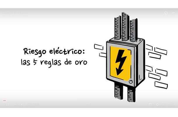 Video: Cinco reglas de oro para trabajar en instalaciones eléctricas