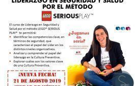 SEGUNDA FECHA: Curso sobre Liderazgo en SST por el método LEGO SERIOUS PLAY en México