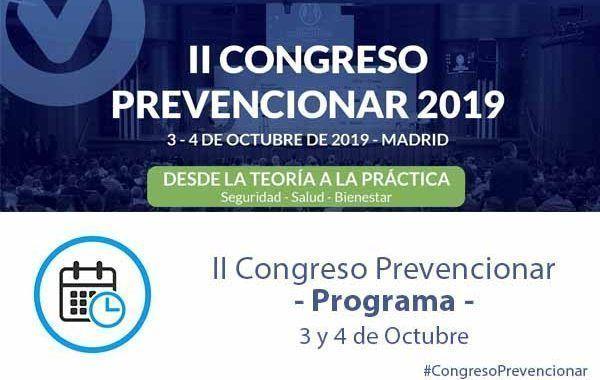 Programa II Congreso Prevencionar España