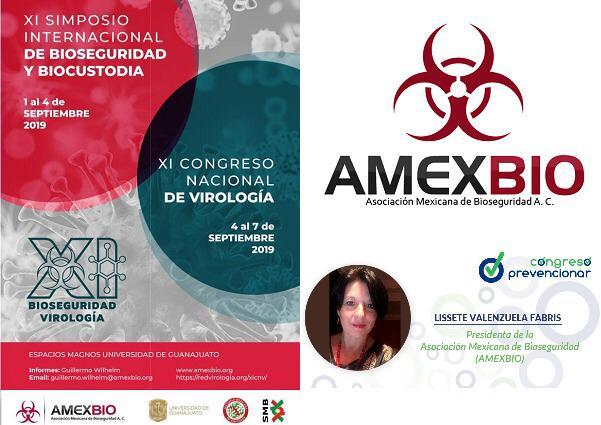 AMEXBIO, presente en el I Congreso Prevencionar México