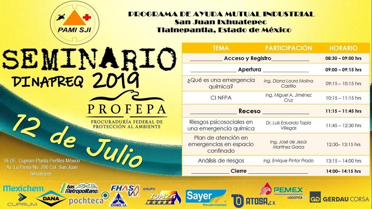 Día Nacional para la Preparación y Respuesta a Emergencias Químicas (DINAPREQ)