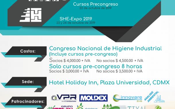 Consulta el Programa del Congreso Nacional de Higiene Industrial de la AMHI