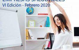 VI Edición Curso Experto en Gestión de Empresas Saludables - Febrero 2020