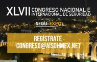 ¡Atención! Inscribe tu cartel al XLVII Congreso Nacional e Internacional de Seguridad y recibe un 50% de descuento en tu inscripción