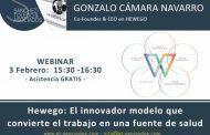 Webinar: Hewego, el innovador modelo que convierte el trabajo en una fuente de salud