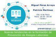 Nuevas tendencias en la formación de Prevención de Riesgos Laborales #Webinar