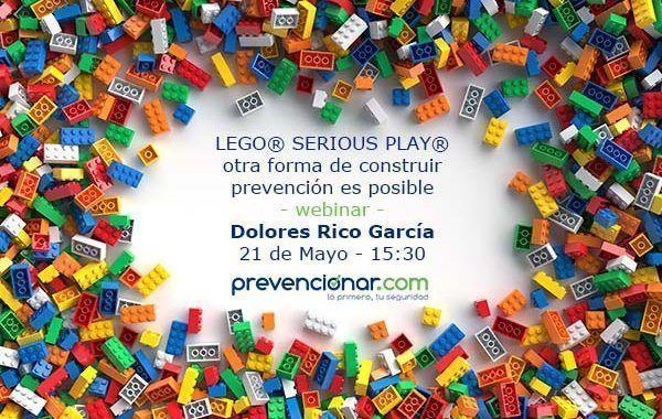 LEGO® SERIOUS PLAY® otra forma de construir prevención es posible #GRATIS #ÚltimasPlazas