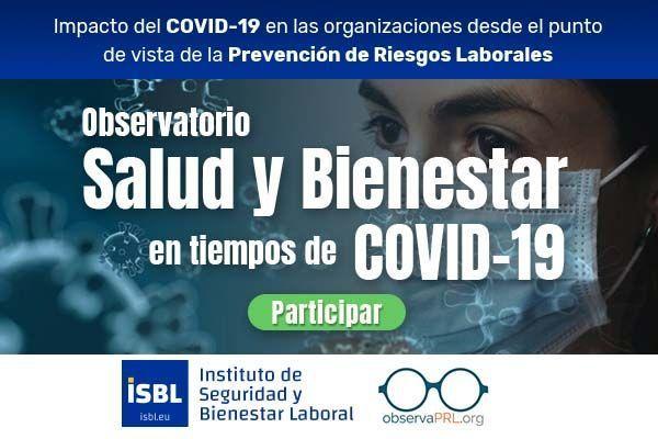 Observatorio Salud y Bienestar en tiempos de COVID 19 - Tu opinión es importante