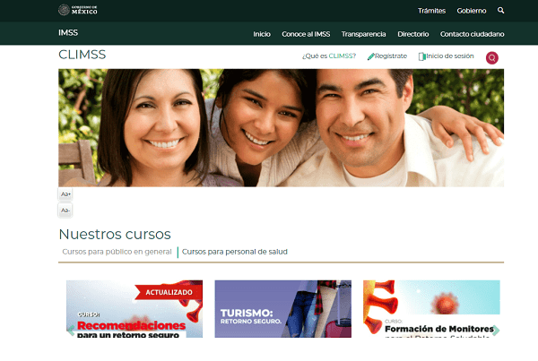 ¡Contabiliza IMSS más de 9.4 millones de usuarios inscritos en los cursos CLIMSS!