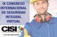 Faltan tres semanas para el IX Congreso Internacional de Seguridad Integral. Inscríbete aquí.