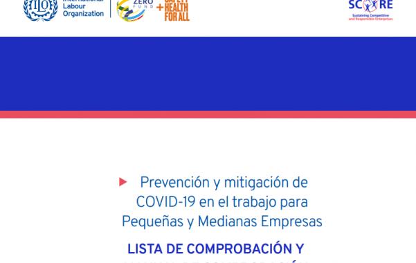 Descarga: Checklist y manual sobre prevención y mitigación de COVID-19 para PYMES