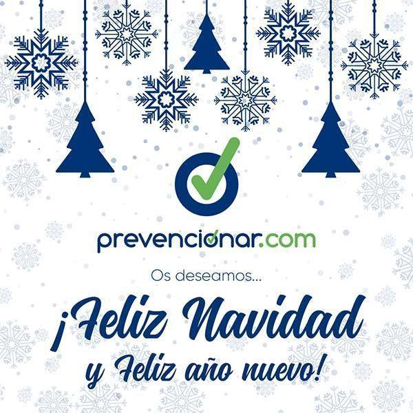 Os deseamos....¡Feliz Navidad y Feliz año nuevo! #PreveNavidad2020