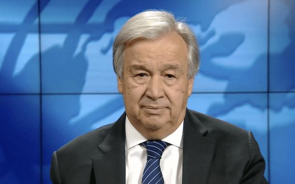 Video: Mensaje del Secretario General de la ONU con motivo del Año Nuevo 2021