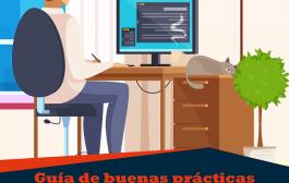Descarga: Guía de buenas prácticas ergonómicas para el trabajo remoto durante el confinamiento por la COVID-19