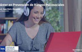 II Edición Máster en Prevención de Riesgos Psicosociales - Inicio 14 de Octubre