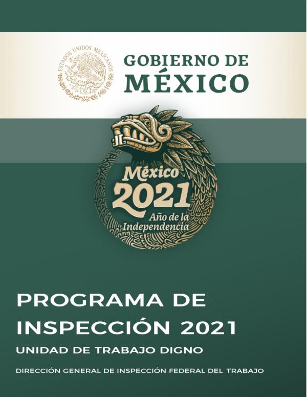 La STPS publica su Programa de inspección 2021