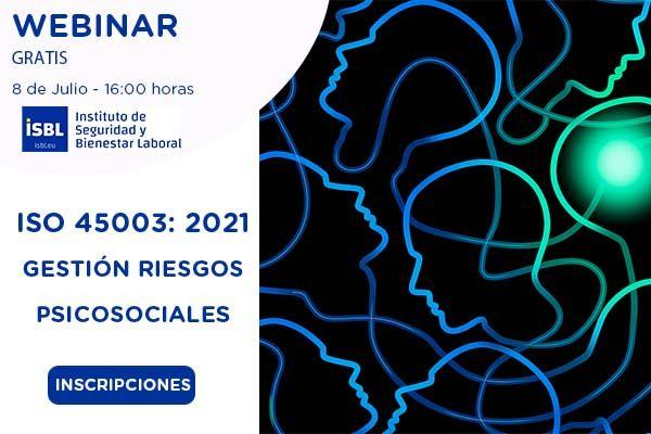 Ya son +1.500 inscritos en el #webinar ISO 45003 Gestión de los Riesgos Psicosociales