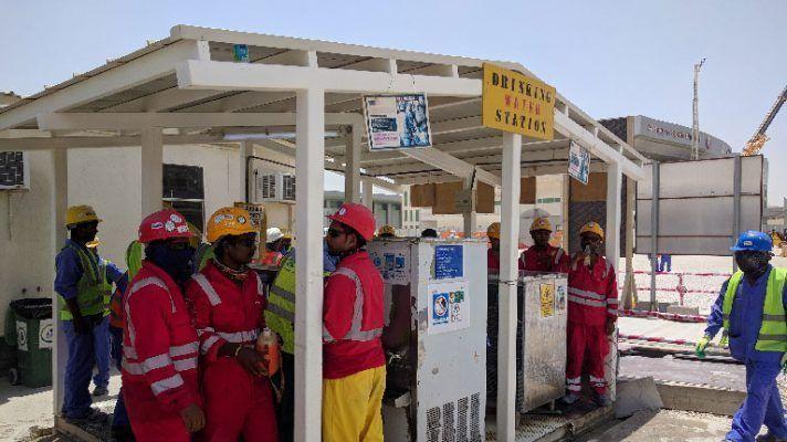 La nueva legislación de Qatar ofrece mayor protección a los trabajadores contra el estrés térmico.