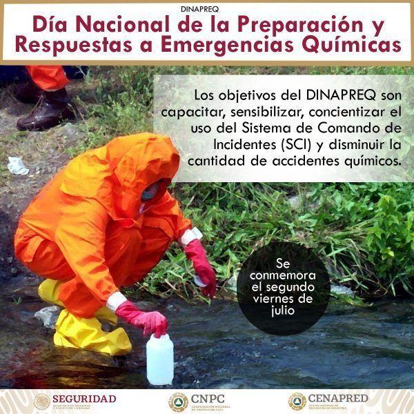 Participa en el Día Nacional para la Preparación y Respuesta a Emergencias Químicas (DINAPREQ 2021)