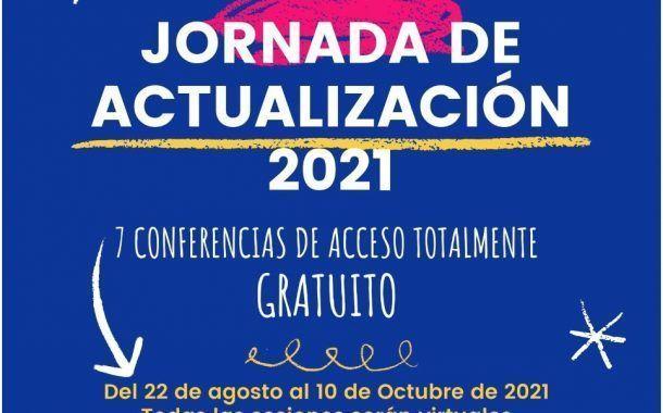 Regístrate a la Jornada de Actualización en Seguridad y Salud 2021