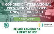 Inscríbete SIN COSTO al Foro para HSE Influencers que se llevará a cabo en el marco del Congreso Prevencionar México + Universidad ISASIT
