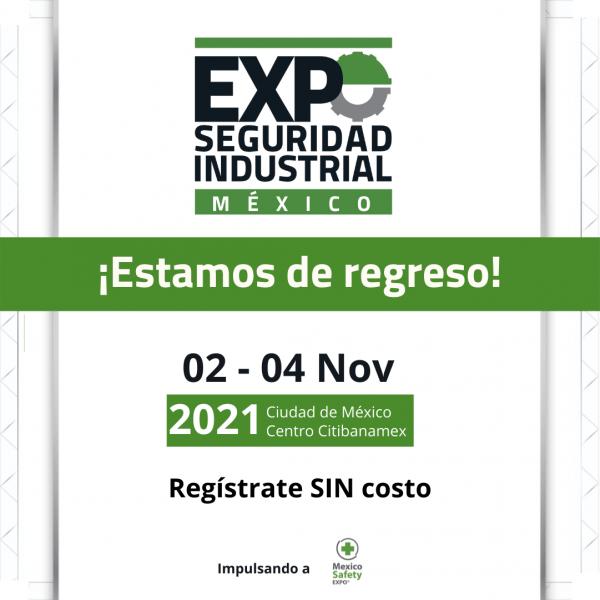 Ya puedes registrarte a la edición 13 de la Expo Seguridad Industrial