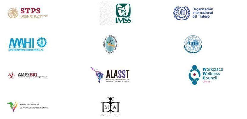 El II Congreso Internacional Prevencionar México - Universidad ISASIT tiene el apoyo de instituciones y medios de apoyo. ¡Conócelos!