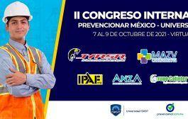 ¡Falta menos de un mes para el II Congreso Internacional Prevencionar México - Universidad ISASIT!