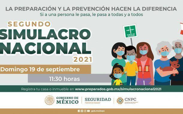 Regístrate al 2do Simulacro Nacional 2021